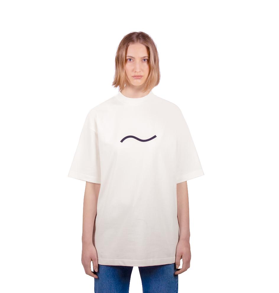 White T-Shirt Woman