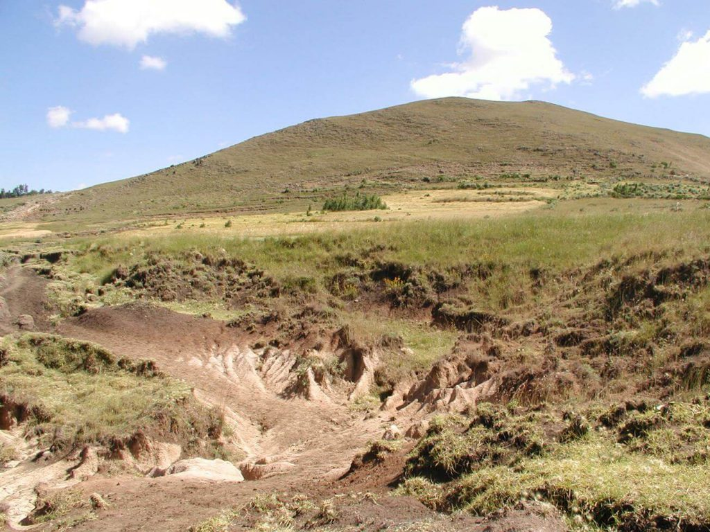 Green Ethiopia - land degradation and desertification
