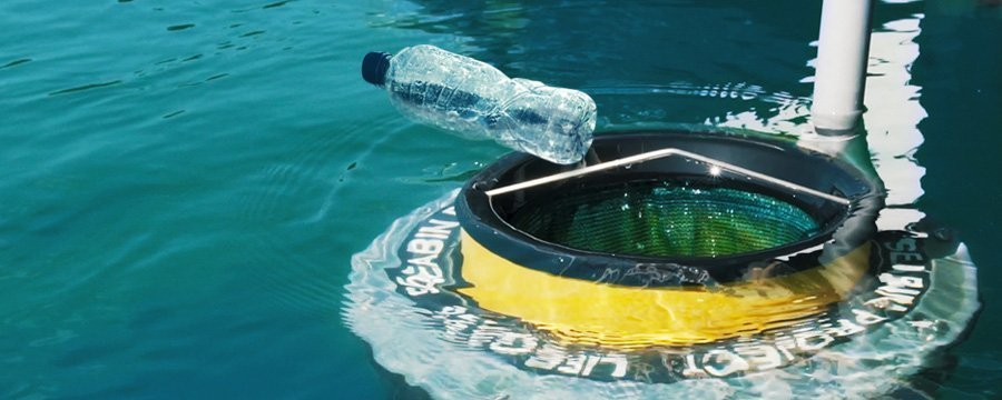 Seabin V5: The hi-tech cointaner to clean up oceans from plastic debris